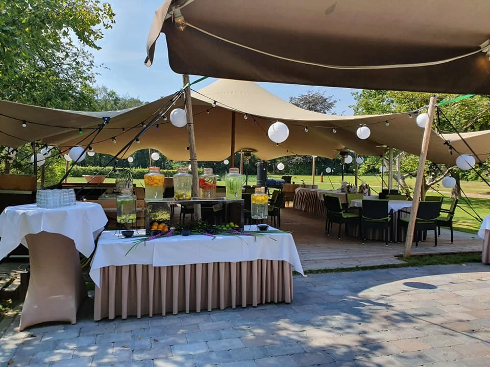 Landgoed Hotel & Restaurant Carelshaven - Carelshaven - lemonade bar - stretchtent